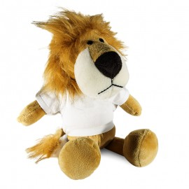 Lion Plush Toy With Sublimation T-Shirt
