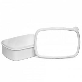 White Plastic Lunch Box