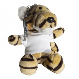 Sublimation Tiger Key Ring with T-Shirt