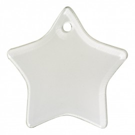 Star Sublimation Acrylic Decorations