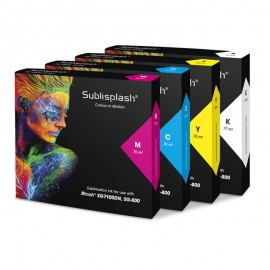Sublisplash for Ricoh SG7100DN - High Capacity CMYK Set