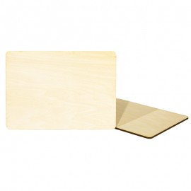 Natural Wood Board Placemat
