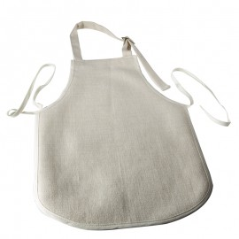 Child's Small Linen Apron