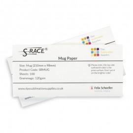 S-Race Pre-Cut Sublimation Mug Paper