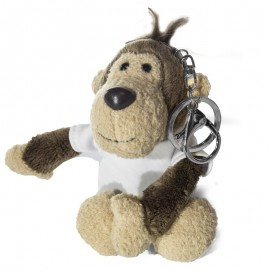 Sublimation Monkey Key Ring with T-Shirt