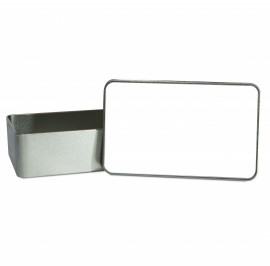 Small Rectangle Sublimation Tin