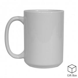15oz White Sublimation Mug