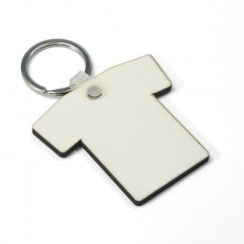 Sublimation Hardboard T-Shirt Key Ring