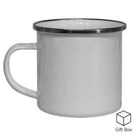 12oz White Sublimation Enamel Mug