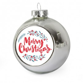 Christmas Bauble - Silver