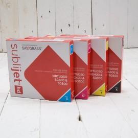 SubliJet-HD Sublimation Gel Ink CMYK Set - For Sawgrass SG400 / SG800