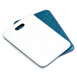 PU Luggage Tag - blue