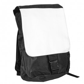 Sublimation Black Backpack