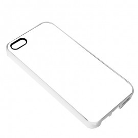 Dye Sublimation White Rubber iPhone 5/5S Cover