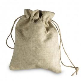 Large Burlap Drawstring Bag