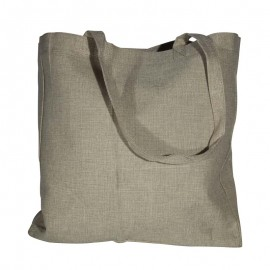 Burlap Shopping Bag