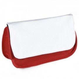 Sublimation Pencil Case / Make Up Bag Red