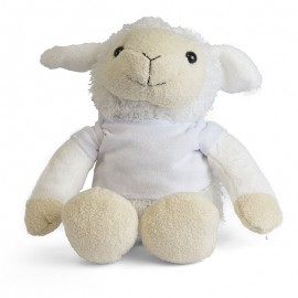 Lamb Plush Toy with Sublimation T Shirt