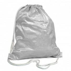 Silver Sparkling Gym Bag