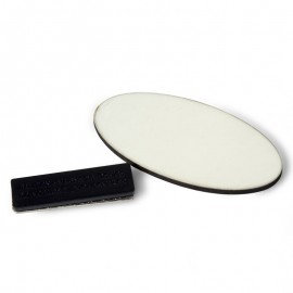 Oval Name Badge