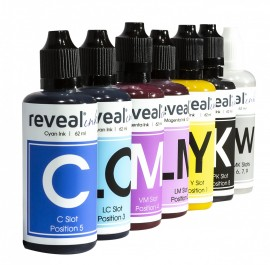 Reveal Sublimation Ink - Full Set Of 9 Bottles