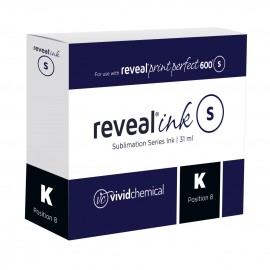 Reveal Sublimation Ink - Black P600 31ml Cartridge