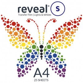 Reveal-S A4 Transfer Film x 25 Sheets