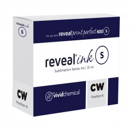 Reveal Sublimation Ink - Clear White (P6) P600 31ml Cartridge