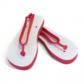 Adults Sublimation Flip Flops - Red