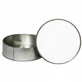 Dye Sub Round Metal Tin