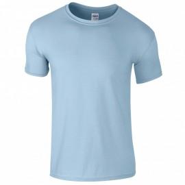Children's Gildan Softstyle Cotton T-Shirt - Light Blue