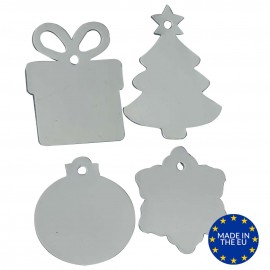 Christmas Ornaments Mixed Sheet - 80 Pieces