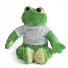 Frog Plush Toy with Sublimation T Shirt