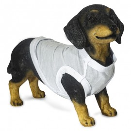 White pet clothes - small