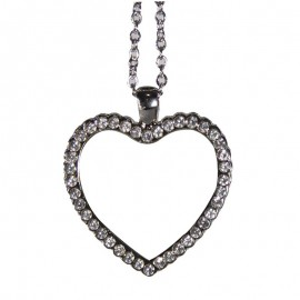 Sublimation Heart Necklace