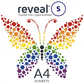 Reveal-S A4 Transfer Film x 50 Sheets
