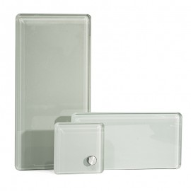 3 in 1 Sublimation Glass Photo Frame