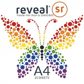 Reveal SR A4  Transfer Film x 25 Sheets