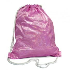 Pink Sparkling Gym Bag