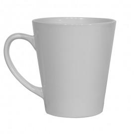 12oz White Latte Mugs