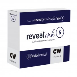 Reveal Sublimation Ink - Clear White (P9) P600 31ml Cartridge