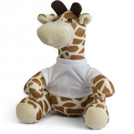 Giraffe Plush Toy with Sublimation T Shirt
