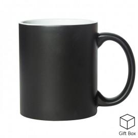 11oz Matte Black Colour Changing Mugs