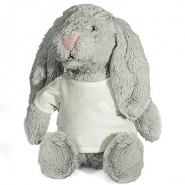 Rabbit Plush Toy with Sublimation T Shirt