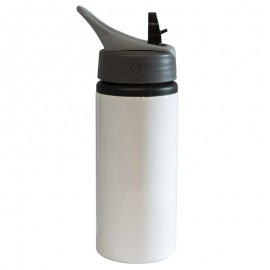 22oz White Aluminum Bottle 650ml