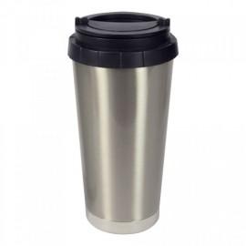 Stainless Steel Takeaway Travel Mug - Silver