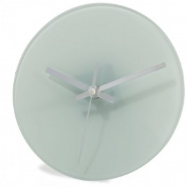 Round Blank Glass Clock 20cm