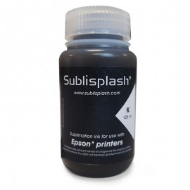Black Sublisplash Bottle Ink 125ml