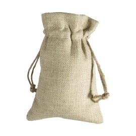 Small Burlap Drawstring Bag