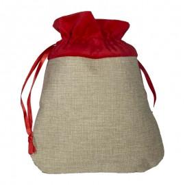 Small Burlap Gift Bag